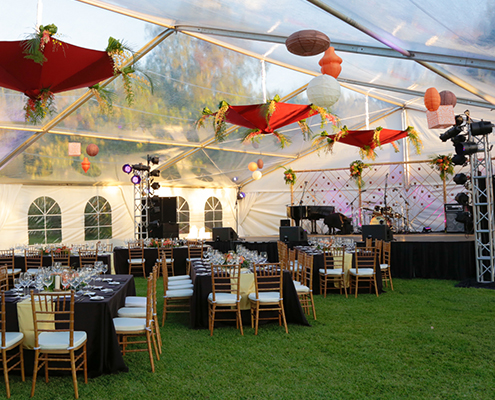 Acura Corporate Party Tent Decoration