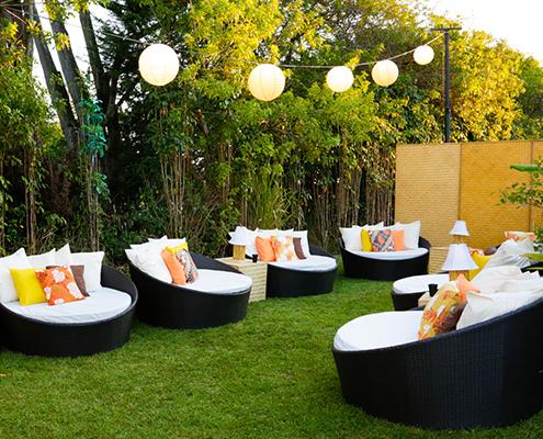 Acura Corporate Party Lounge Area