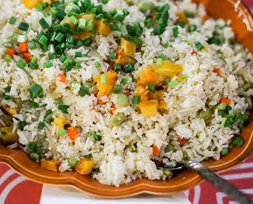 Colin Cowie Rehearsal Dinner Fried Rice