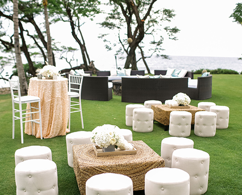 Colin Cowie Wedding Lounge by Ocean