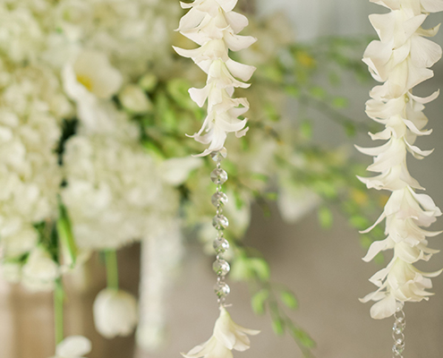 Colin Cowie Wedding Entry Flowers