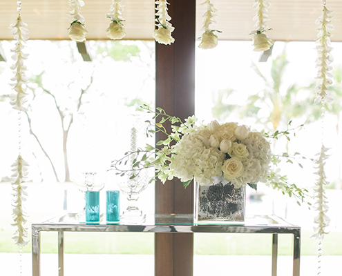 Colin Cowie Wedding Entry Table